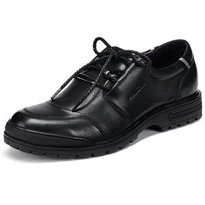 Maigao麦高男鞋 春夏新品系带头层牛皮商务正装皮鞋 M0623229-7