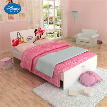 【disney迪士尼儿童家具】迪士尼米妮儿童床1