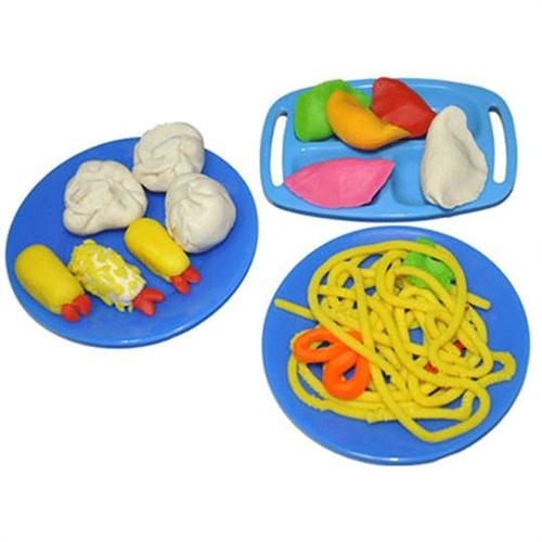 培培乐点心大师3d积木拼插 彩泥橡皮泥安全套装儿童玩具9361
