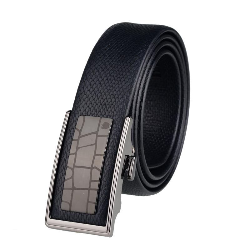锻造腰带扣图纸-s苹果 自动扣皮带 黑色SC 1270065A图