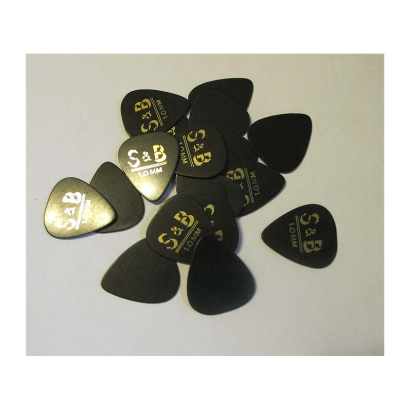 【SRB乐器配件】S&B1.00mm木吉他箱琴匹企业标签日资生产设备图片