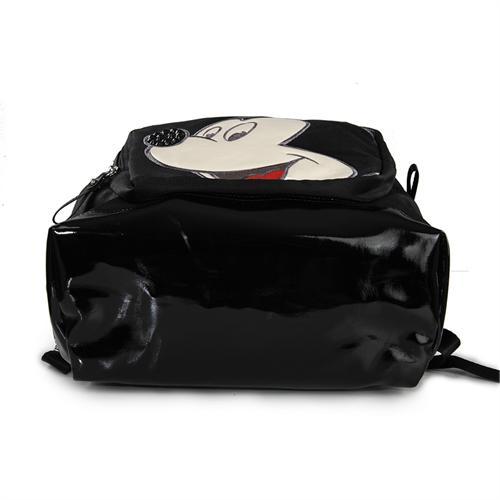 迪士尼米奇包包专柜正品韩版帆布休闲中性双肩包ef-0