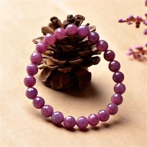 【御灵珠宝】钟情 红宝石刻面珠形手链