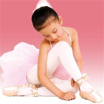 小女孩 芭蕾舞袜子