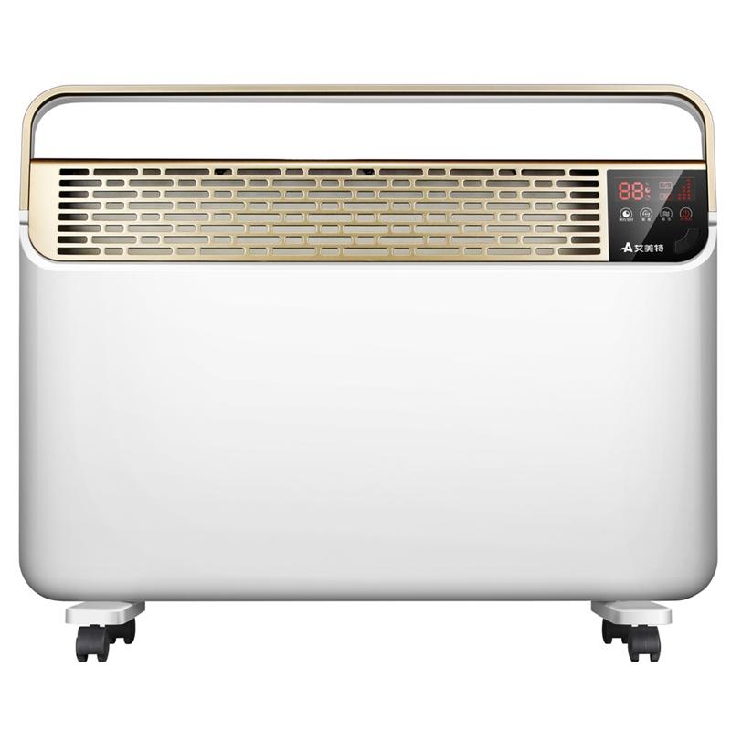 艾美特取暖器hc22090r-w遥控欧式快热炉即开即热家用