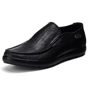 Maigao男士皮鞋 时尚豪迈牛颈纹牛皮商务休闲鞋 13202
