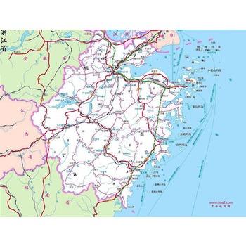 浙江天台白鹤镇地图