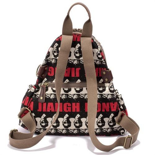书包休闲双肩背包可爱女生书包个性背包双肩包礼品