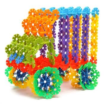 潜力 雪花片桶装 乐高式塑料积木 塑料拼插拼装玩具儿童益智玩具_3.