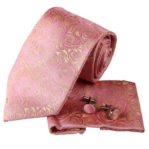 领带叠玫瑰花步骤图片分解图