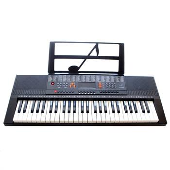 永美电子琴ym-568 54键仿钢琴键盘 led数码电子琴 儿童初学 可插话筒