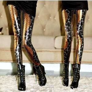 韩国bbb品牌超炫美女蛇纹打底裤/连裤袜