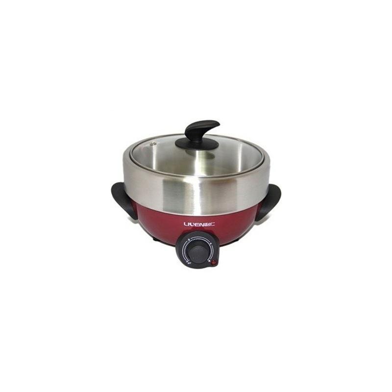 6l 多功能电热锅 煎煮两用 分体式