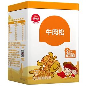 伊威牛肉松10包富含锌,有助于体格发育,提高免疫