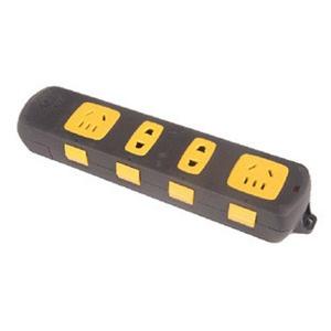 公牛插座拉不脱插排插gn-c1220接线板无线插座自动锁孔防止拉脱