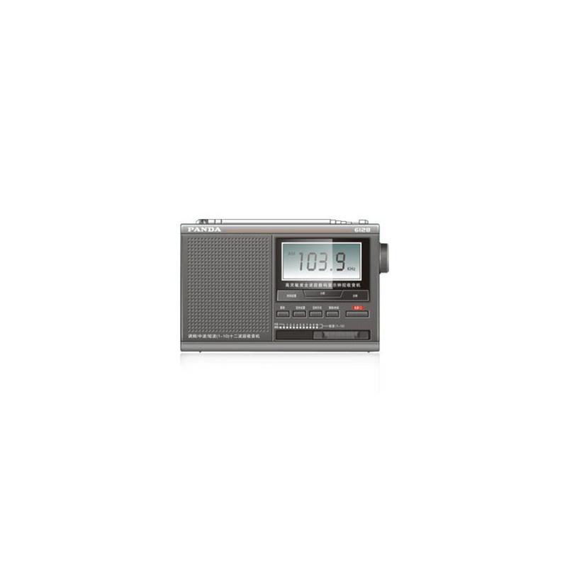 熊猫 收音机6128 收音机 全波段 数字 调谐 sony集成电路