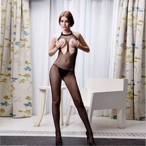 【包邮货到付款】 以比赞情趣内衣  女士情趣内衣 浓桃艳李性感连体衣 丝袜 206054-1