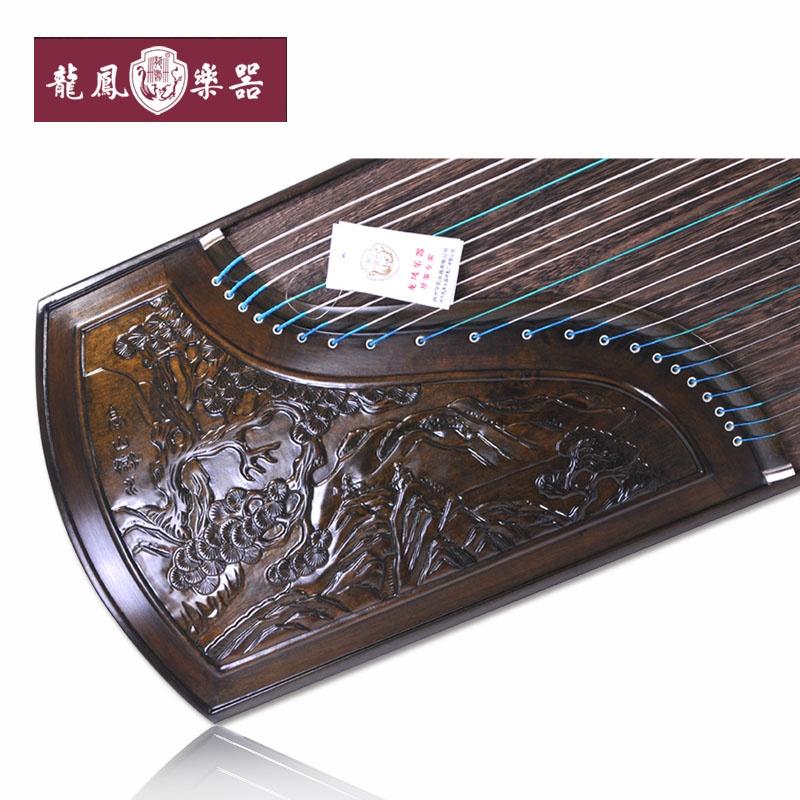 【龙凤民族乐器】龙凤牌楠木古筝