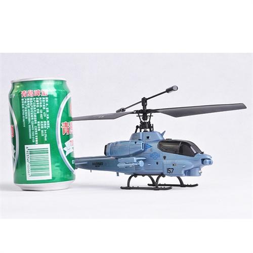 双马遥控飞机3.5通耐摔小型眼镜蛇直升机9113