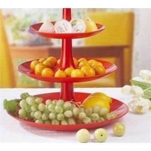 创意果盘 水果圣诞树