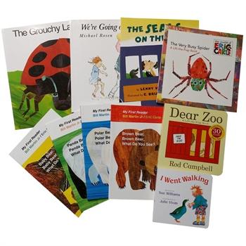 吴敏兰绘本123推荐ch3 3-6岁幼儿主题书 我家有个动物园animals 8本