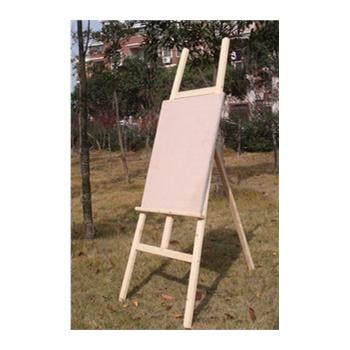 木制梯形画架 高1.5M 木质画架 山形木画架 送4开画板