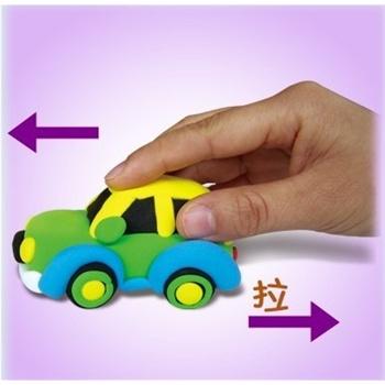 粘土动物汽车图片