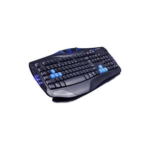 e-3lue 眼镜蛇键盘 k39 有线 usb 办公 电脑 游戏键盘