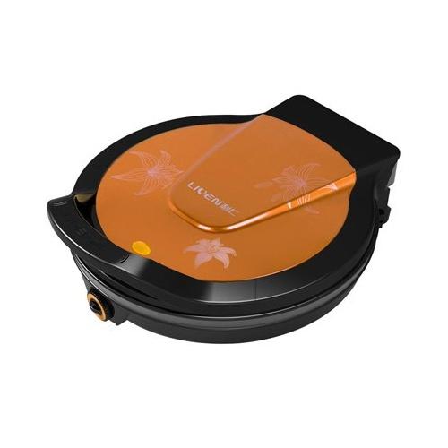 利仁电饼铛lr-300c黄色 技术升级版.双控电路加热,,不