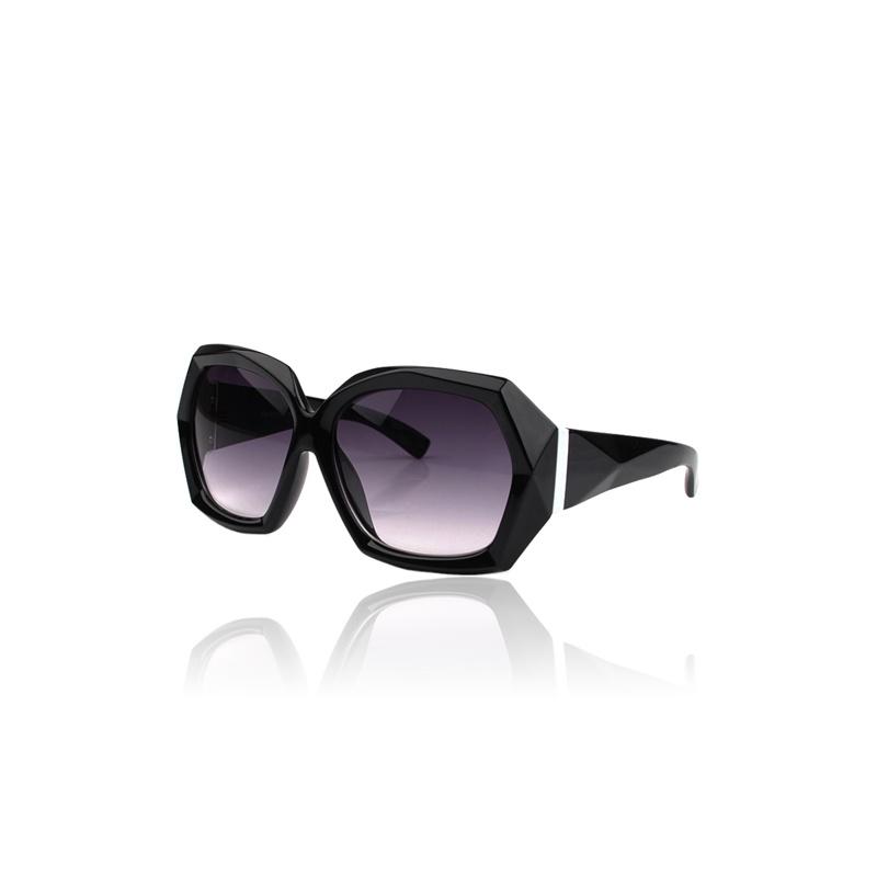 帕森太阳镜 正品男女时尚太阳眼镜 女款时尚墨镜 明星款蛤蟆镜_黑色