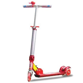 小丽明儿童滑板车 儿童三轮车全铝闪光轮立杆闪光