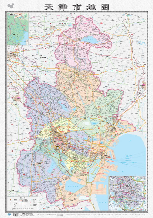 天津市地图●天津城区