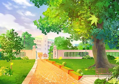 幼儿园夏天主题墙扇子