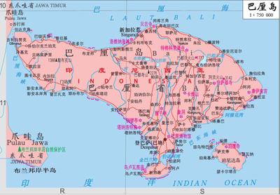 世界地图印度尼西亚_印度尼西亚工程机械市场前景广阔