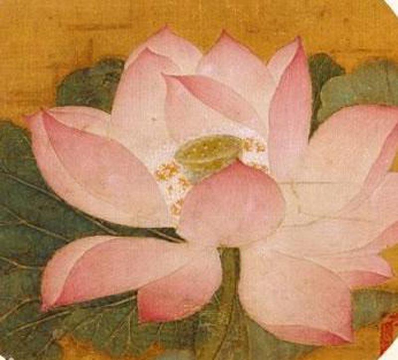 中国历代绘画珍本 出水芙蓉图(12 04)