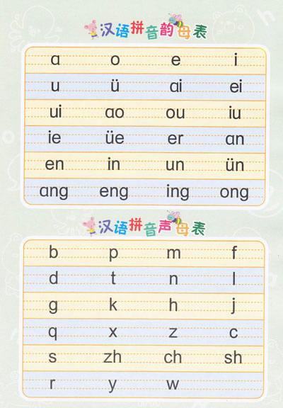 拼音包括声母 韵母还有什么