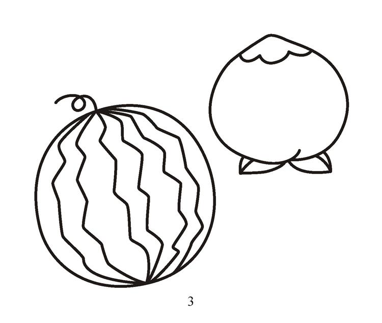 100种水果简笔画步骤图