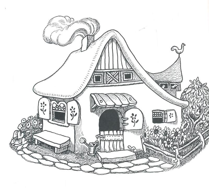 国际大奖绘本花园 婉达 盖格大师绘本精选 白雪公主和七个小矮人