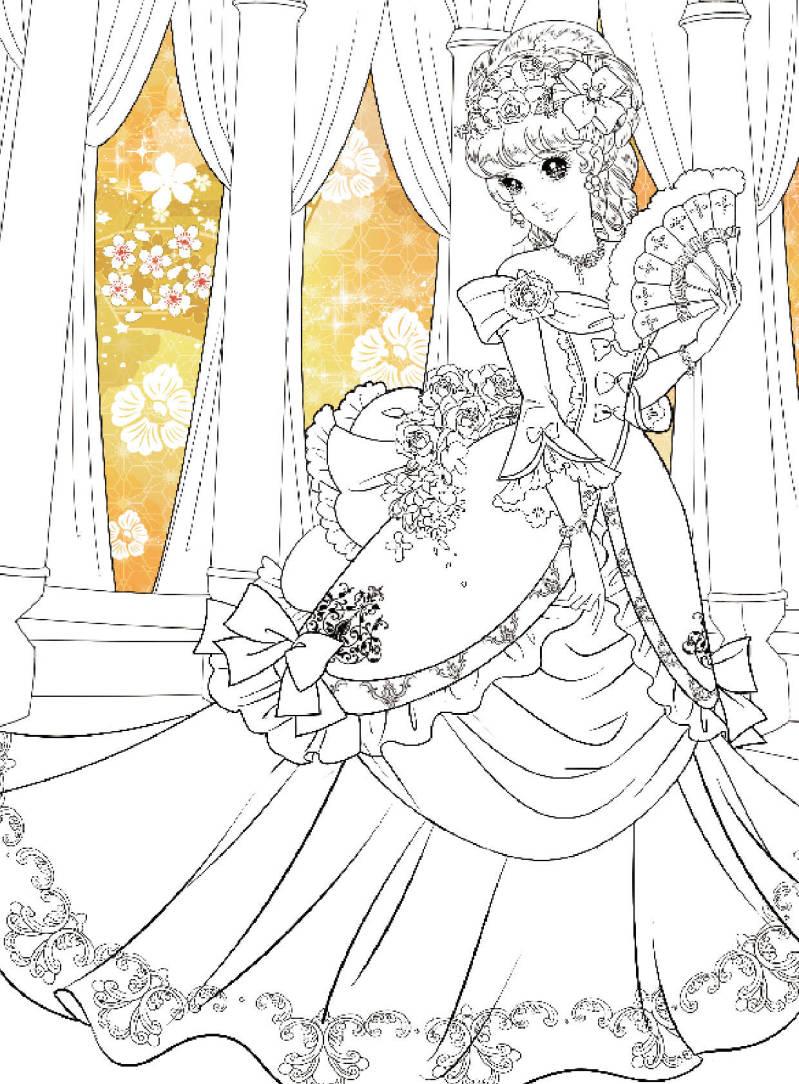 小公主玩美涂画:全4册
