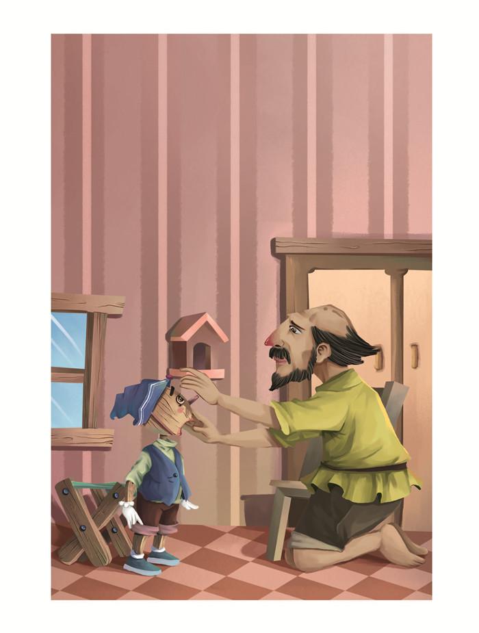 《儿童文学经典 人生必读书木偶奇遇记