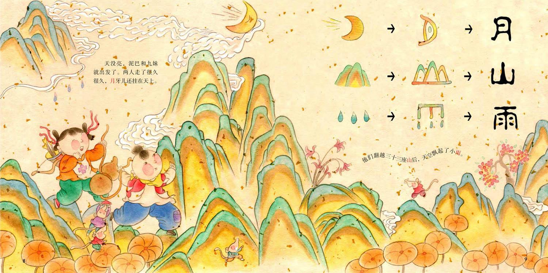 忆 汉字之美 象形字一 高高山上一条龙