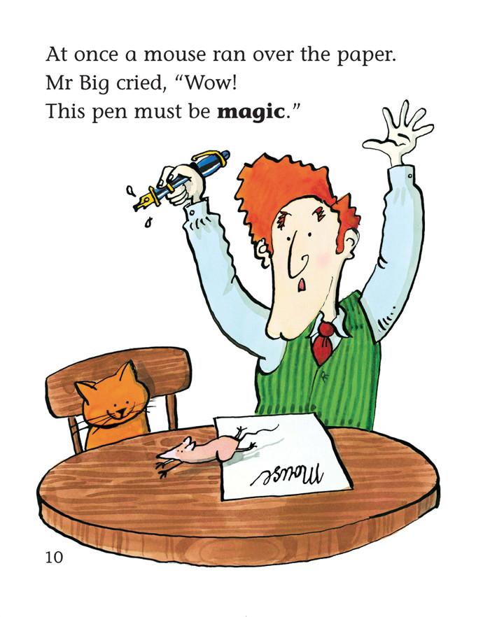 大猫英语分级阅读-五级2-适合小学四.五年级-点读版-(全8册.
