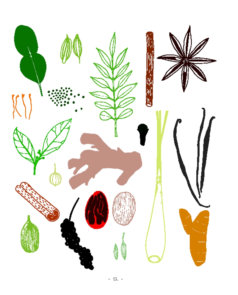 请创意画:45种美食涂鸦及它们的20个创意