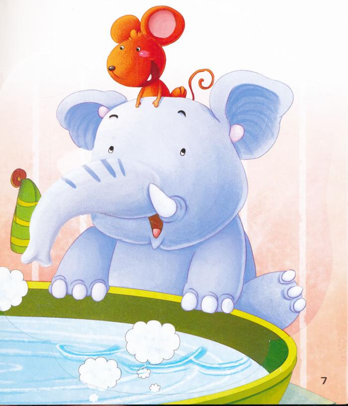 还告诉小朋友要如何清洁牙齿,内容丰富,故事情节生动活泼,小动物生动