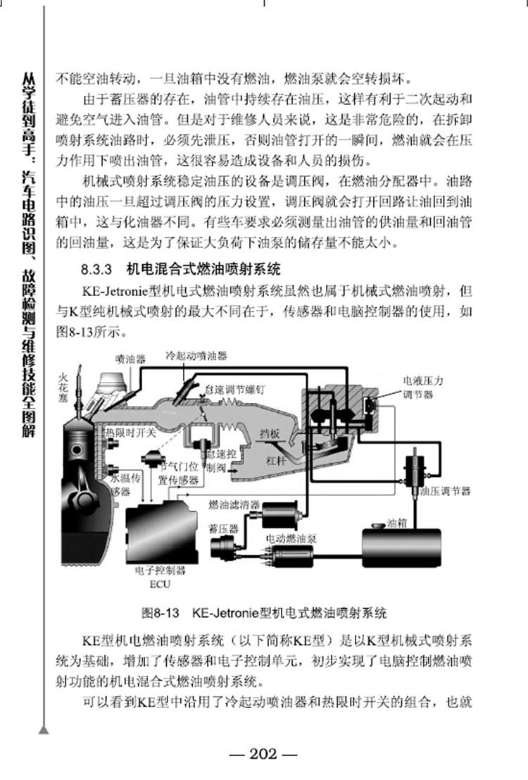 第1章 探究汽车构造与各类系统 001 1.1汽车类型介绍 002 1.2汽车构造与电气系统 007 1.2.1汽车构造 007 1.2.2车身组成 009 1.2.3动力系统与发动机电控技术 010 1.2.4汽车电气系统 014 1.3底盘是汽车真正的主体 015 1.3.1传动系统与驱动力控制技术ESP 015 1.3.2行驶系统与电控悬架技术 017 1.