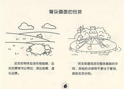 儿童简笔画创意大全:风景建筑