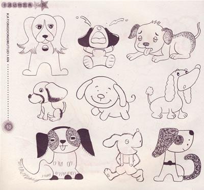 《卡通动物图典》(稚子文化工作室.)【简介_书评_】