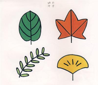 《少儿绘画入门(植物)》山榛