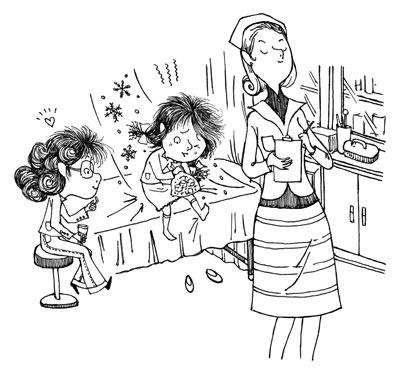 儿童玩沙简笔画