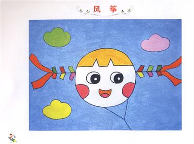 儿童绘画图片大全简单的蘑菇房